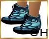 CH Neon Blue Shoes