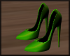 Lime Green Pumps