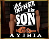 """a"""" FatherLikeSon T Blk"""