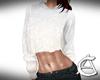White Glitter Sweater