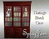 Vintage Large Bookcase
