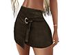 ~N~ Brown Mini Skirt