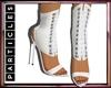P! Corsette Lace Up Heel
