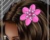 Pink Splash Hair Bow