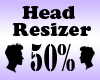 Head Resizer 50%