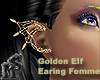 Golden Elf Earing Femme