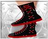 Kids Devil Costume Shoes