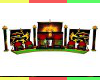 Royal Lions Rasta Throne