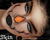 Pumpkin face skin