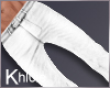 K angel white pants