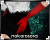 n. Red Long Gloves