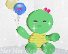 Turtle and Balloons