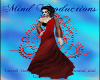 Red And Black Ball Gown