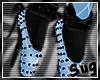 {S} Blue Ballet Shoes