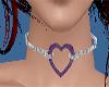 purple heart choker