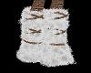 SockMonkey F. foot fur