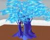 arbre turquoise