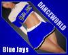 Blue Jays Cheer Skirt