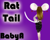 BA White Rat Tail