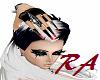 Red tip Blk Nails&Gloves