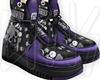 taurus black/purple *
