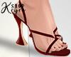 #K. Festive Red Heels