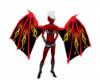 Red n Black Flame Wings
