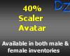 40% Scaler Avatar - M