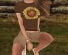 TF* Tee & Button Shorts