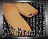 [B]purple toenails