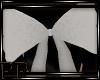 White Sparkle Bow