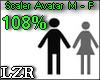 Scaler Avatar M - F 108%