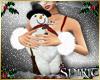 *S* Snowman Toy