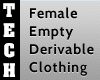 Female Empty Top Deriv