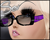 *S School Glasses Purple