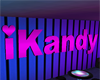 iKandy Wall Sign