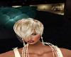 Hair veil beige