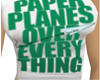 Girl*green paper planes*