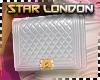 SL Flap Bag White