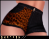 Cheetah Print Shorts RLL