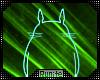 |R| Neon Totoro Teal