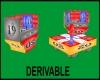 J|Deriv. Chair/Table Set