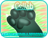 +ID+ Grøn Plush Paws M