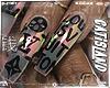 LV Chrome Nails