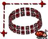 Bezel Bracelet Red R
