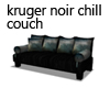 Kruger Noir Chill Couch