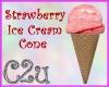 C2u~ Strawberry Cone