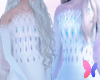 Elsa Elements bodysuit