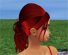 Red wit Gold female hair