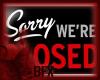BFX Closed/ Open